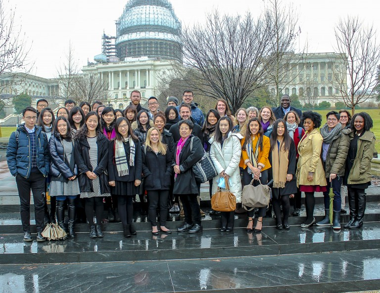 MSSP students in Washington, DC