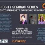Curiosity Seminar Series flyer