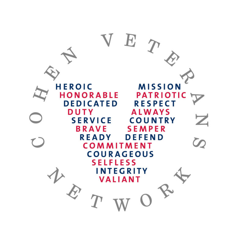 Cohen Veterans Network Scholars logo