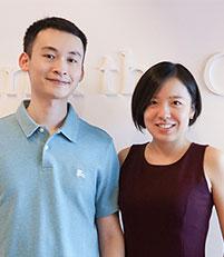 Raymond Pan & Evelyn Tian