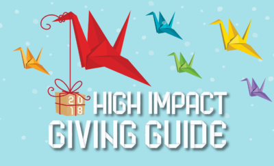 2018 High Impact Giving Guide Giving title