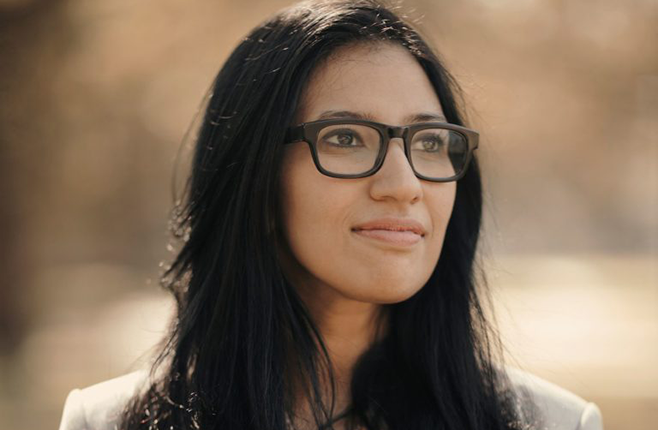 Headshot of PhD graduate Samira Ali