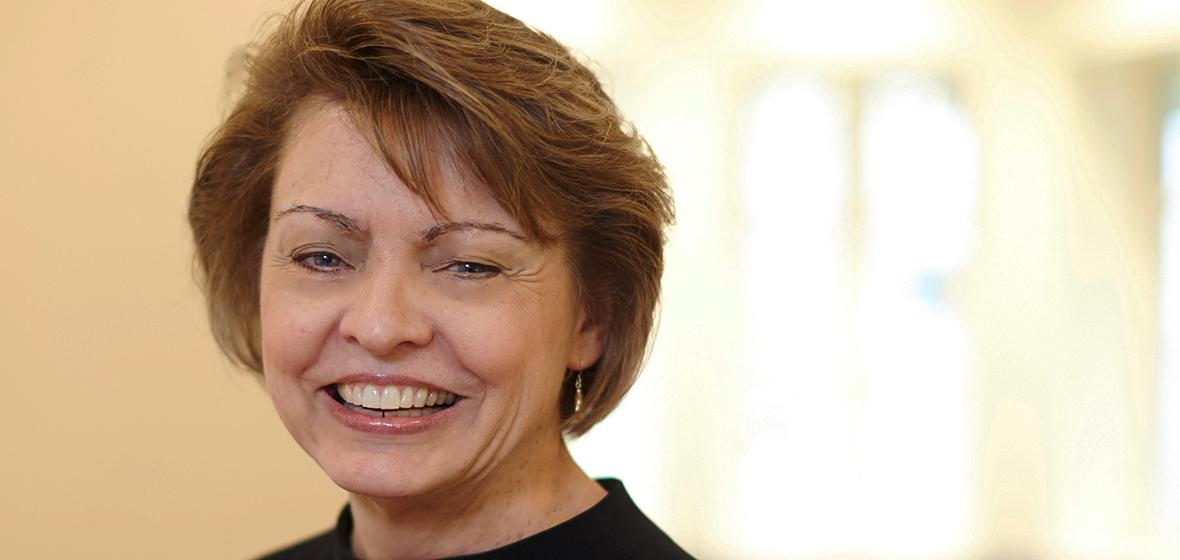 Headshot of Dr. Susan Sorenson