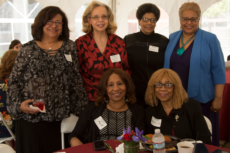 Alumni attend Sunday's Jazz Brunch during Alumni Weekend