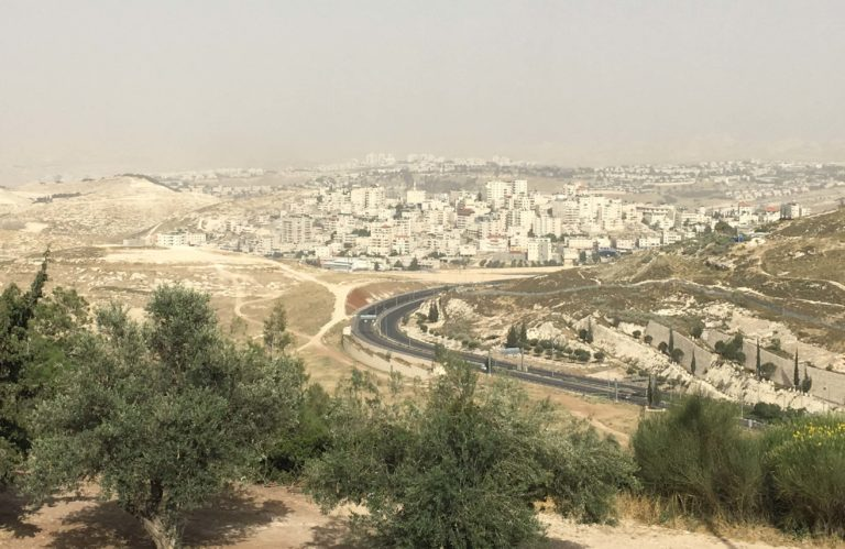 View from Mt. Scopus Campus
