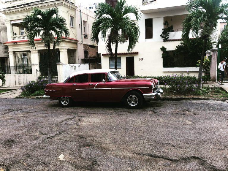 A classic car in Cuba
