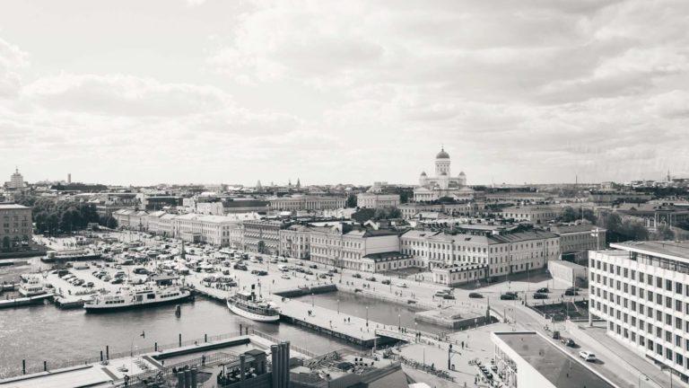 A cityscape in Finland
