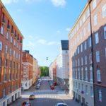 Street in Finland
