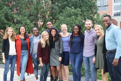 Penn JD MSSP Cohort 2018 poses