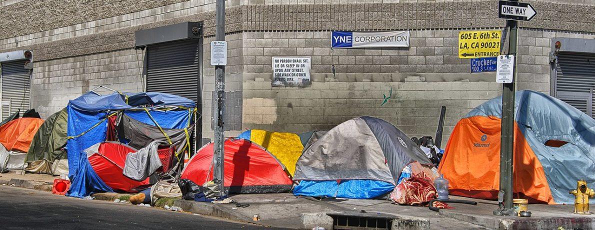 Tenting in Los Angeles