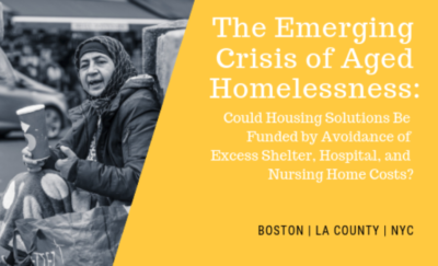 Image from Aged Homelessness Crisis report
