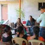 Students visit Self Help Group