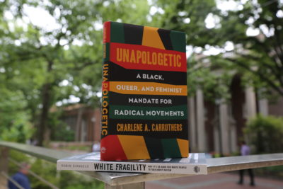 "SP2 Task Force-selected books for ""One Book, One SP2"": Unapologetic and White Fragility"