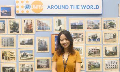 SP2 alumna Xiaorui Hou