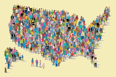 """Cover image for The Center for High Impact Philanthropy's """"We the People: A Philanthropic Guide to Strengthening Democracy"""""""