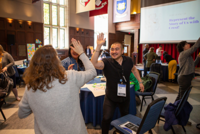 XSD participants at the Fall 2019 convening at Penn's Houston Hall