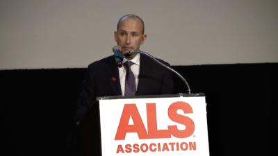 Jeff Oppenheimer at ALS Association Dinner