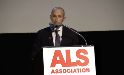 Jeff Oppenheimer at ALS Association Dinner