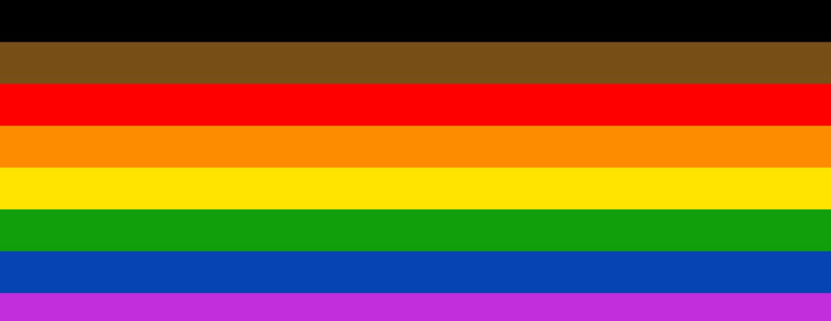 Philadelphia LGBTQ Pride flag