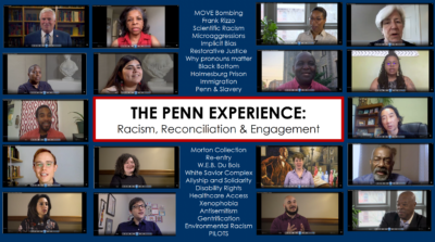 Screenshot of The Penn Experience: Racism, Reconciliation, and Engagement